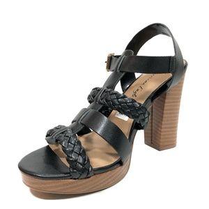 cce86bed5dfa American Eagle By Payless Shoes - Women s Blake Platform Sandal Black